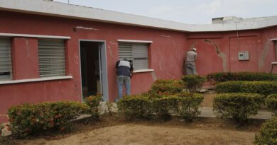 Avanzan trabajos de rehabilitación del ambulatorio Las Calderas