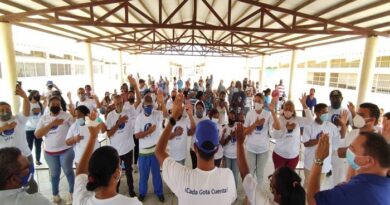 Continúa conformación y juramentación de MTA en Carirubana