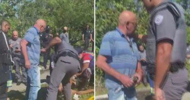 Ladrón recibe un balazo de la policía y su padre lo reprende: «¡No necesitas robar a nadie!»