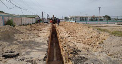 Hidrofalcón sustituye colector en Punta Cardón  y Las Margaritas