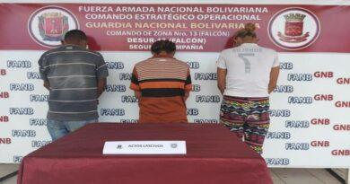 Desur Falcón detuvo a un hombre por violación a varios niños y dos adolescentes