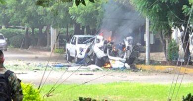 Explota un carro bomba en una brigada del Ejército colombiano en la ciudad de Cúcuta