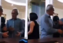 Estallan en risas por un hombre que bebió de más y enfureció con su reflejo (VIDEO)