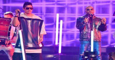 Chyno y Nacho se reunieron en los Premios Juventud