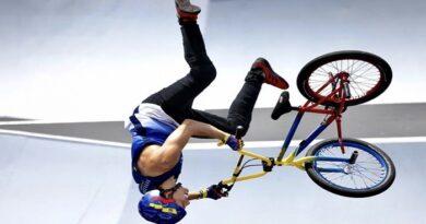 Venezolano Daniel Dhers logró el tercer lugar en la ronda clasificatoria de BMX freestyle