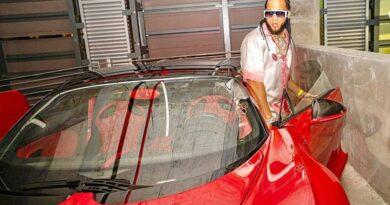 Queman el Bugatti del rapero «El Alfa» y denuncia a otro artista por el atentado
