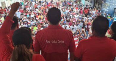 Andrés Eloy Méndez recorrió Iturriza y juramentó equipo político municipal
