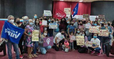 Mujeres revolucionarias de Falcón expresan apoyo contundente a Víctor Clark