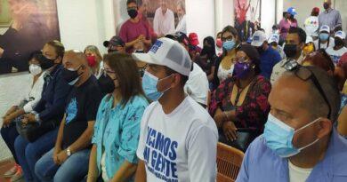 Candidatos en Carirubana firmaron aceptar resultados en las primarias del PSUV