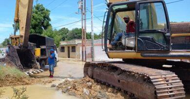 """Rotura en línea de 48"""" en Tacuato será corregida en las próximas horas"""