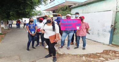 Piden liberación de detenidos con material estratégico en Tocópero