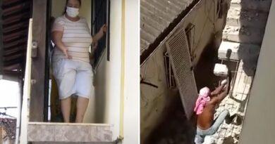 Mujer no sale de su casa desde hace casi un año porque vecino molesto demolió el acceso