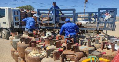 Amuay recibió servicio de Gas doméstico del gobierno regional a través de Gasfalca