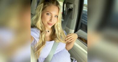 Sascha Fitness anunció el nacimiento de su tercera hija