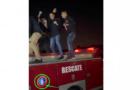 Polémica en San Cristóbal tras video de una fiesta sobre una unidad de bomberos
