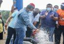 Lo prometió y lo cumplió: En Carazao gobernador Clark activo pozo de agua