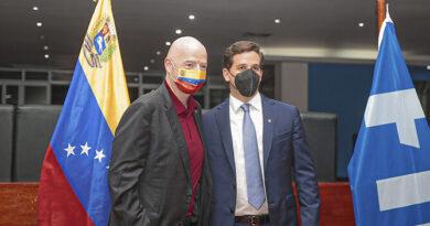 Presidente de la Fifa Gianni Infantino llegó Venezuela para reunirse con la FVF