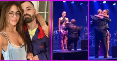 Mike Bahía le propuso matrimonio a Greeicy en un concierto