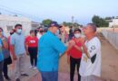 Jorge Díaz realiza Casa a Casa y Cara a Cara en Pueblo Nuevo